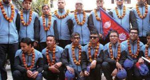 بلائنڈ ورلڈ کپ؛ بنگلا دیش اور نیپال کی ٹیمیں پاکستان پہنچ گئیں