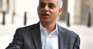 میئرلندن صادق خان کا ٹرمپ کے دورہ برطانیہ کی منسوخی کا خیر مقدم