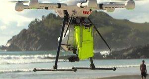 پہلی بار ڈرون نے ڈوبتے ہوئے انسانوں کو بچالیا، ویڈیو وائرل