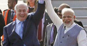 اسرائیلی وزیراعظم کے 6 روزہ دورہ بھارت کا آغاز