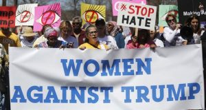 ٹرمپ کےخلاف لاکھوں امریکی خواتین کا تاریخی احتجاج