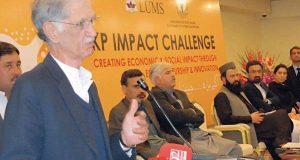 اداروں میں سیاسی مداخلت ختم کر کے نظام کو یکسر تبدیل کر دیا ہے، پرویز خٹک