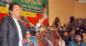 ختم نبوت حلف نامے میں تبدیلی غیرملکی آقاﺅں کو خوش کرنے کیلئے کی گئی، عمران خان