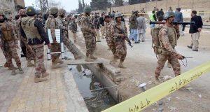 کوئٹہ دہشتگردی: ایف سی اہلکاروں پر فائرنگ ، 4 جوان شہید