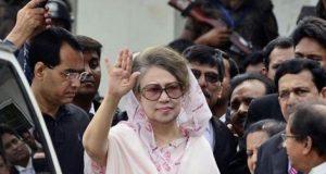 بنگلا دیش کی سابق وزیراعظم خالدہ ضیا کو 5 سال قید کی سزا