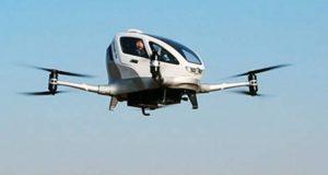 چین میں پہلے مسافر بردار ڈرون کی کامیاب پرواز
