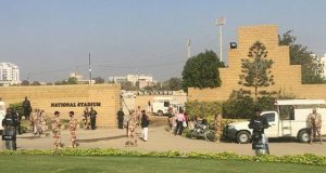 کراچی میں پی ایس ایل 3 فائنل کی سیکیورٹی کے لیے فل ڈریس ریہرسل