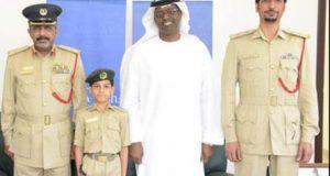 آٹھ سالہ بچہ دبئی پولیس کا اہلکار بن گیا