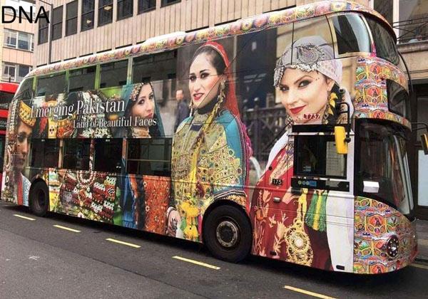 لندن، پاکستانی ثقافت کو اجاگر کرنے والی ایک ڈبل ڈیکر سڑک پر رواں دواں ہے