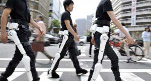 سوچ کی لہروں سے حرکت کرنے والی روبوٹک ٹانگیں