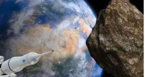 زمین کی طرف بڑھنے والے سیارچے کو تباہ کرنے کا منصوبہ