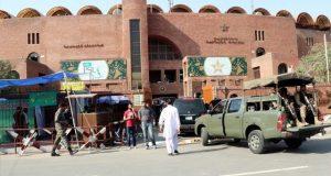 قذافی اسٹیڈیم میں میچ کے لیے فول پروف سکیورٹی انتظامات