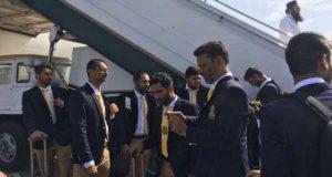 کوئٹہ گلیڈی ایٹرز اور پشاور زلمی کے پاکستانی کھلاڑی لاہور پہنچ گئے