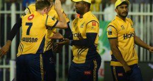 پشاور زلمی نے لاہور قلندرز کو شکست دیدی