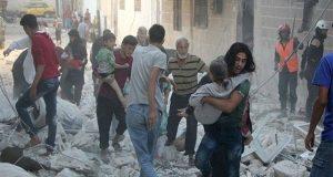 شام میں اسکول پر بمباری، 16 بچوں سمیت 20 افراد جاں بحق