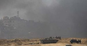 اسرائیلی طیاروں کی غزہ میں حماس کے ہیڈ کوارٹر پر بمباری