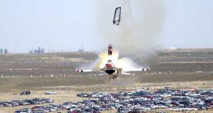 امریکا میں ایف 16 سمیت دو طیارے گر کرتباہ، 3 افراد ہلاک