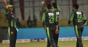 پاکستان نے ویسٹ انڈیز کو دوسرے ٹی ٹوئنٹی میں شکست دیکر سیریز اپنے نام کرلی