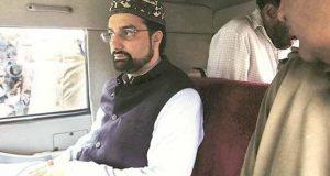 مقبوضہ کشمیر میں احتجاج کے اعلان پر میر واعظ عمر فاروق نظربند