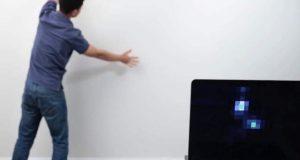 پوری دیوار کو ٹچ اسکرین بنانے والا پینٹ