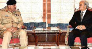 پر امن انتخابات کا انعقاد: آرمی چیف کی ویزراعظم کو مکمل تعاون کی یقین دہانی