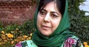 مقبوضہ کشمیر کی کٹھ پتلی وزیراعلیٰ محبوبہ مفتی مستعفی