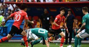 فیفا ورلڈ کپ میں کوریا نے دفاعی چیمپئن جرمنی کو ایونٹ سے باہر کردیا