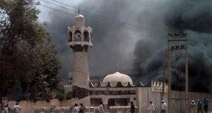 نائیجیریا کی مسجد میں افطار کے دوران 3 خودکش حملے،10 افراد جاں بحق