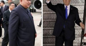 امریکی صدر اور شمالی کوریا کے سربراہ تاریخی ملاقات کیلیے سنگاپور پہنچ گئے
