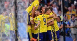 فٹبال ورلڈ کپ: سویڈن نے میکسیکو کو 0-3 سے ہرا دیا