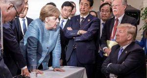 امريکی صدر کے رویے کے باعث جی سیون اجلاس کا منفی اختتام