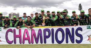 سہ فریقی ٹی ٹوئنٹی فائنل: پاکستان نے آسٹریلیا کو 6 وکٹوں سے ہرا دیا