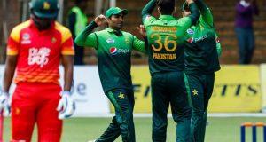 پاکستان نے پہلے ون ڈے میں زمبابوے کو 201 رنز سے شکست دیدی