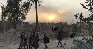 شام میں امریکی بمباری سے 54 افراد ہلاک
