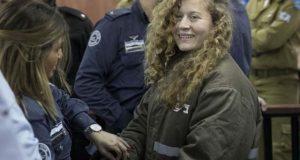 فلسطین کی بہادر بیٹی احد تمیمی جیل سے رہا