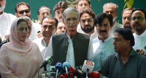 ضابط اخلاق کی خلاف ورزی، فضل الرحمن  ایاز صادق ،پرویز خٹک کی معافی قبول