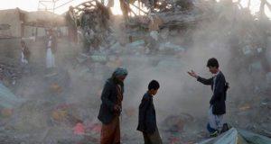 یمن میں عرب اتحاد کی بمباری سے 43 افراد جاں بحق