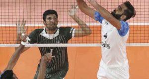 ایشین گیمز والی بال؛ پاکستان نے بھارت کو 1-3 سے شکست دیدی