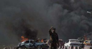 افغانستان میں نماز جمعہ کے دوران دو خود کش دھماکوں میں 30 افراد جاں بحق