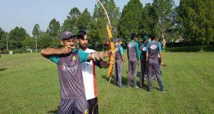 ایشیا کپ فٹنس کیمپ، قومی کرکٹرز کی ایبٹ آباد میں تیراندازی، سائیکلنگ