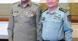 جنرل قمرجاوید باجوہ جنرل ژینگ یوشیا ملاقات:مشترکہ چیلنجزسے نمٹنے کےلئے عسکری تعاون بڑھانے کا فیصلہ