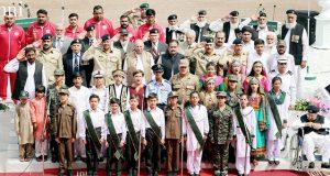 یوم دفاع و شہداءبھرپور ملی جوش و جذبے سے منایا گیا