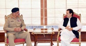 وزیر اعظم ۔ چیئرمین جوائنٹ  چیفس آف اسٹاف کمیٹی ملاقات  قومی سلامتی امورپرتبادلہ خیالات