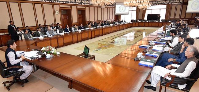 اسلام آباد:۔ وزیر عظم عمران خان نیشنل کاﺅنٹر ٹیررازم اتھارٹی (نیکٹا) اجلاس کی صدارت کر رہے ہیں