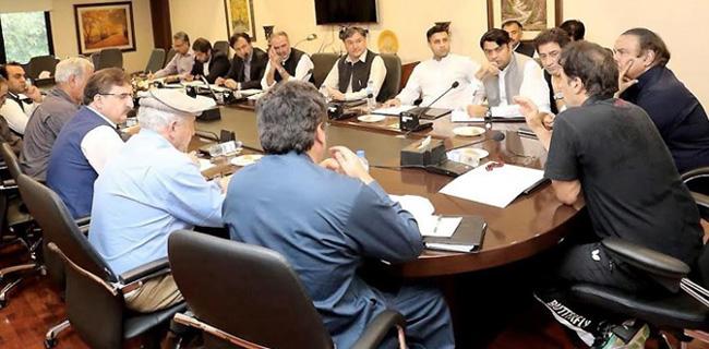 اسلا م آباد:۔ وزیر اعظم عمران خان ایک اہم اجلاس کی صدارت کر رہے ہیں