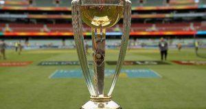 آئی سی سی کرکٹ ورلڈکپ 2019 کی ٹرافی 4 اکتوبر کو پاکستان پہنچے گی