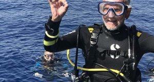 جنگ عظیم دوم کے 95 سالہ سپاہی نے تیراکی میں اپنا ہی ریکارڈ توڑ دیا