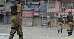 مقبوضہ کشمیر میں بھارتی مظالم کے خلاف شٹر ڈاؤن ہڑتال
