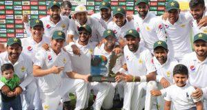 پاکستان نے ابوظہبی ٹیسٹ میں آسٹریلیا کو شکست دیکر سیریز اپنے نام کرلی