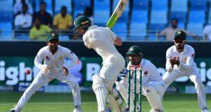 پاکستان اور آسٹریلیا کے درمیان دبئی ٹیسٹ دلچسپ مقابلے کے بعد ڈرا
